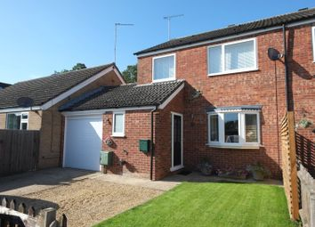 Thumbnail 3 bed semi-detached house for sale in Malsters Close, Mundford, Thetford
