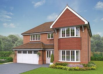 Thumbnail 4 bedroom detached house for sale in The Llandrillo, Holmes Chapel Road, Congleton, Cheshire