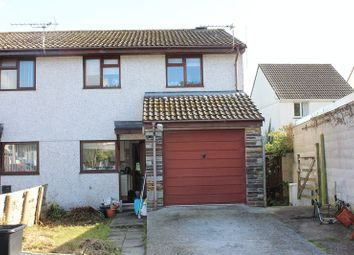 Thumbnail 3 bed semi-detached house for sale in Rebecca Close, St. Blazey, Par