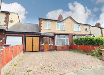 Thumbnail 4 bed semi-detached house for sale in Normanby Road, Worsley, Manchester