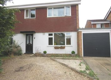 Thumbnail 3 bed semi-detached house for sale in Pinchmill Way, Sharnbrook, Bedford
