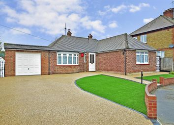 Thumbnail 3 bed bungalow for sale in Larkfield Avenue, Sittingbourne, Kent