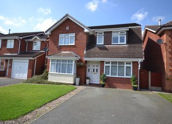 Thumbnail 4 bed detached house for sale in Coppice Green, Kingswood, Warrington