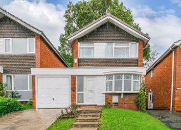 Thumbnail 3 bed link-detached house for sale in Salford Close, Redditch