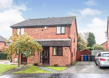 Haymoor, Lichfield WS14. 2 bed semi-detached house for sale