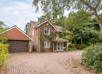 Thumbnail 4 bed detached house for sale in Crooksbury Road, Runfold, Farnham