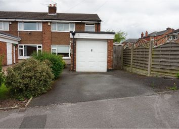 Thumbnail 3 bedroom semi-detached house for sale in Glenmoor Road, Offerton