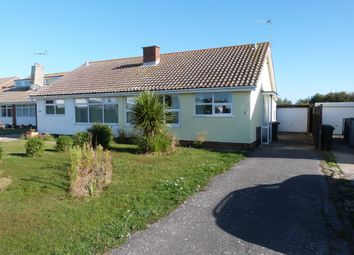 Thumbnail 2 bedroom semi-detached bungalow for sale in East Way, Selsey, Chichester