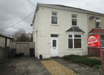 Thumbnail 3 bed semi-detached house for sale in Old Road, Neath, Neath, West Glamorgan