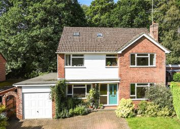 Thumbnail 5 bed detached house for sale in Highbury Crescent, Camberley, Surrey