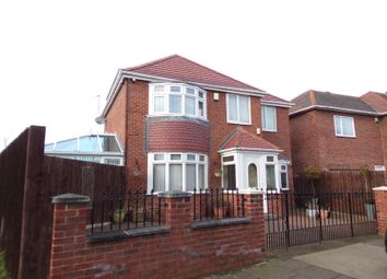 Thumbnail 3 bed detached house for sale in Nawton Avenue, Sunderland