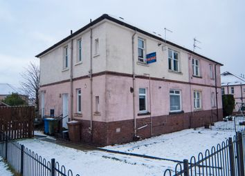 Thumbnail 2 bed flat for sale in Crownest Loan, Stenhousemuir