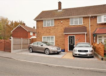 Thumbnail 3 bed end terrace house for sale in The Fryth, Basildon
