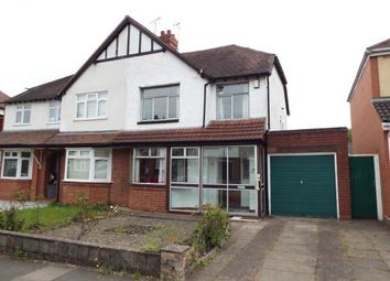 Thumbnail 3 bedroom semi-detached house for sale in Langleys Road, Selly Oak, Birmingham, West Midlands