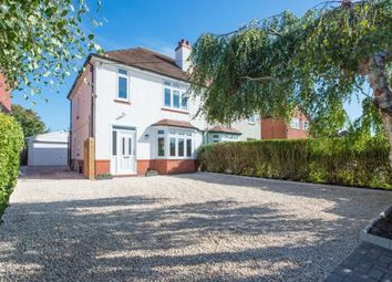 Thumbnail 3 bed semi-detached house for sale in Crewe Road, Shavington, Crewe, Cheshire
