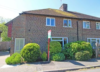 Thumbnail 3 bed semi-detached house for sale in Thornscroft, Steyning