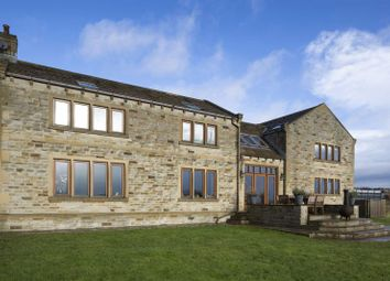 Thumbnail 4 bed detached house for sale in Low Farm Cottage, Lodge Lane, Liversedge