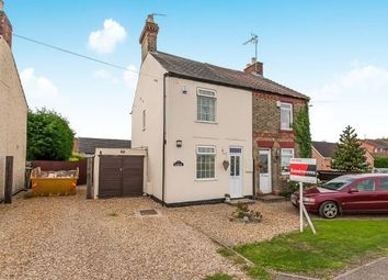 Thumbnail 2 bed semi-detached house for sale in Thorney Road, Newborough, Peterborough, Cambridgeshire