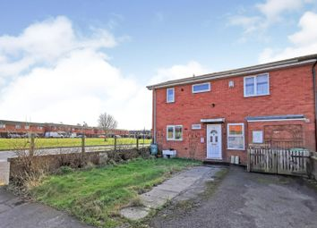 Thumbnail 2 bed end terrace house for sale in Staverton Crescent, Lincoln