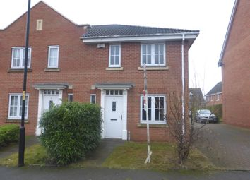 Thumbnail 3 bedroom end terrace house for sale in Thornbury Road, Walsall