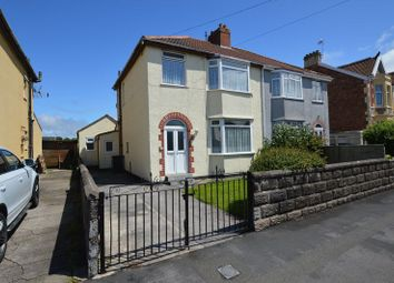 Thumbnail 4 bed semi-detached house for sale in Mendip Road, Weston-Super-Mare
