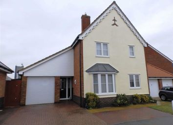 Thumbnail 3 bed detached house for sale in Foxwood Crescent, Ipswich, Suffolk