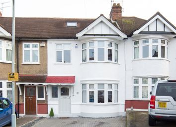 Thumbnail 3 bed terraced house for sale in Fairway, Woodford Green