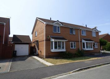 Thumbnail 4 bed semi-detached house for sale in Hobbiton Road, Worle, Weston-Super-Mare