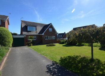 Thumbnail 3 bed detached house for sale in Buckingham Close, Exmouth, Devon