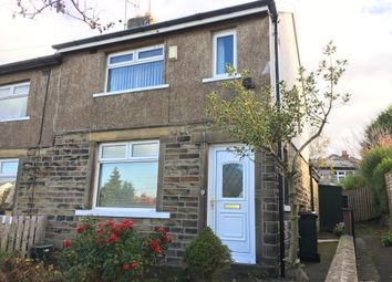 Thumbnail 3 bed semi-detached house to rent in Hollybank Gradens, Bradford