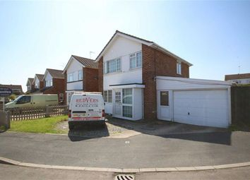Thumbnail 3 bed detached house for sale in Hadrians Close, Swindon