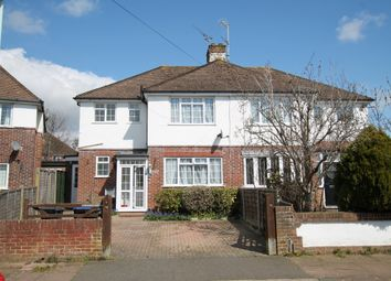 Thumbnail 3 bed semi-detached house for sale in Broomfield Avenue, Worthing
