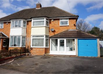 Thumbnail 3 bed semi-detached house for sale in Ringmere Avenue, Birmingham