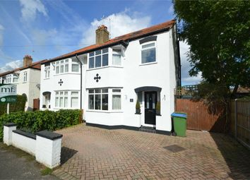 Thumbnail 4 bed semi-detached house for sale in Endsleigh Gardens, Burwood Park, Hersham, Walton-On-Thames
