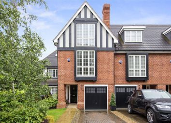 Thumbnail 4 bed terraced house for sale in Admiral Close, Weybridge, Surrey