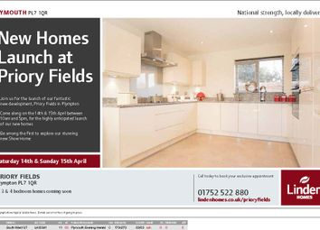Thumbnail 2 bed semi-detached house for sale in Priory Fields, Plympton, Devon