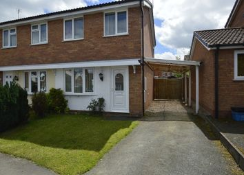 Thumbnail 2 bed semi-detached house for sale in Cotshore Drive, Shrewsbury