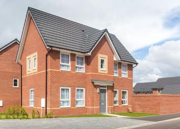 "Thumbnail 3 bed detached house for sale in ""Morpeth"" at Cranmore Circle, Broughton, Milton Keynes"