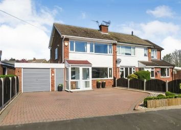 Thumbnail 3 bed semi-detached house for sale in Micklehome Drive, Alrewas, Burton-On-Trent, Staffordshire