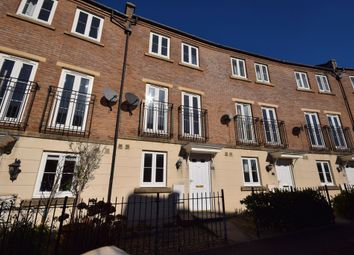Thumbnail 3 bed town house to rent in Fleming Way, St Leonards, Exeter