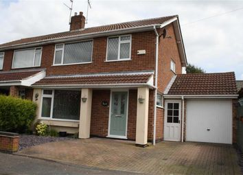 Thumbnail 3 bed semi-detached house for sale in Tysoe Hill, Glenfield, Leicester