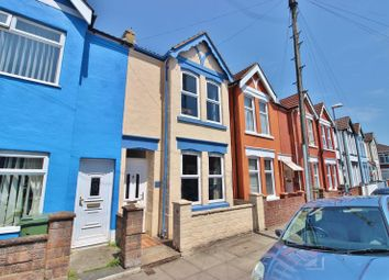 Thumbnail 3 bed terraced house for sale in Glasgow Road, Southsea
