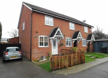 Thumbnail 2 bed terraced house for sale in Finch Close, Stowmarket