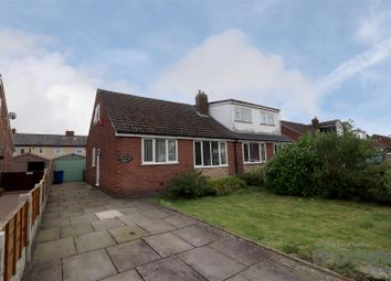 Thumbnail 3 bed semi-detached bungalow for sale in Longhurst Road, Hindley Green, Wigan