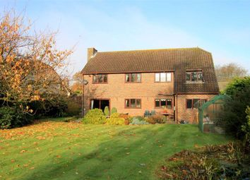Thumbnail 4 bed detached house for sale in Burley Road, Winkton, Christchurch, Dorset