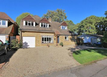 Thumbnail 4 bed detached house for sale in Hare Hill Close, Pyrford, Woking
