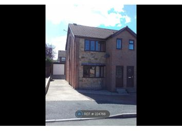 Thumbnail 3 bed semi-detached house to rent in Hollin Drive, Wakefield