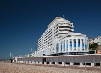 Thumbnail 3 bed flat for sale in Marine Court, St. Leonards-On-Sea, East Sussex.