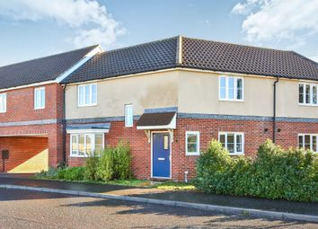 Thumbnail 3 bedroom terraced house for sale in Dr Torrens Way, New Costessey, Norwich