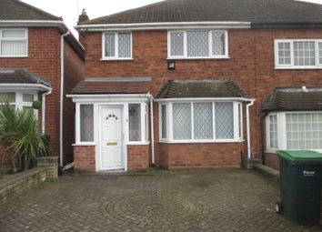 Thumbnail 3 bedroom semi-detached house to rent in Gorse Farm Road, Great Barr